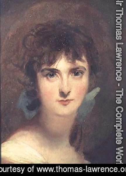 Sir Thomas Lawrence - Portrait of Sally Siddons 1775-1803