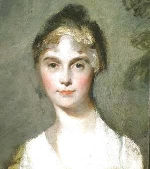 Sir Thomas Lawrence - Portrait sketch of a young girl