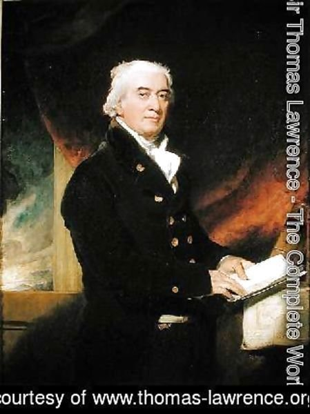 Sir Thomas Lawrence - Captain Joseph Cotton 1745-1825