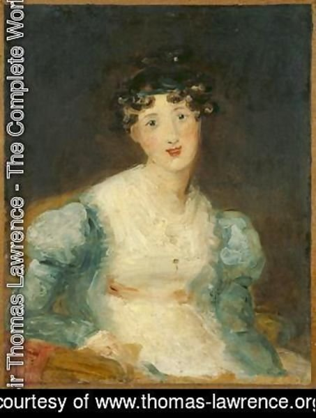 Sir Thomas Lawrence - Young Lady Seated