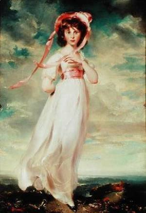 Sir Thomas Lawrence - Sarah Barrett Moulin Pinkie