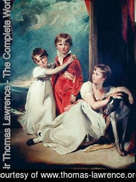 Sir Thomas Lawrence - Portrait of the Fluyder Children