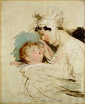 Sir Thomas Lawrence - Portrait of a mother and child
