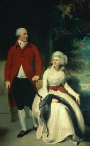 Portrait of John Julius Angerstein 1735-1823 and his second wife Eliza 1748-1800