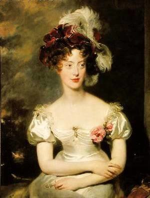 Sir Thomas Lawrence - Marie Caroline de Bourbon 1798-1870 Duchesse de Berry