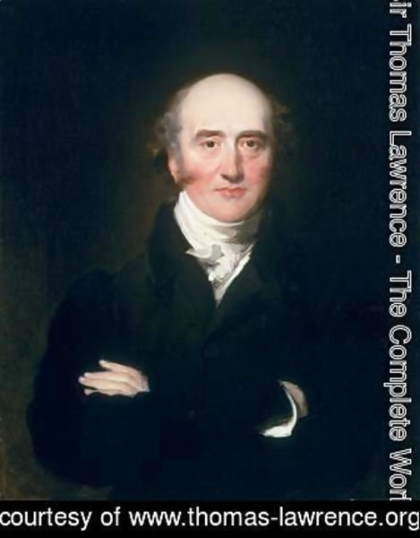 Sir Thomas Lawrence - Portrait of the Rt Hon. George Canning MP 1770-1827