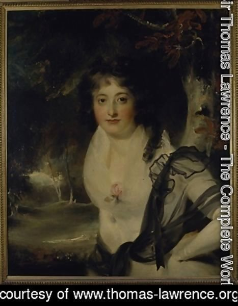 Sir Thomas Lawrence - Portrait of Lady Charlotte Bentinck