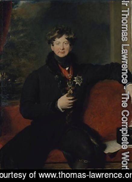 Sir Thomas Lawrence - Portrait of George IV