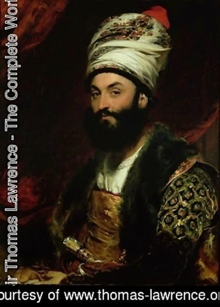 Portrait of Mirza Abul Hassan Khan