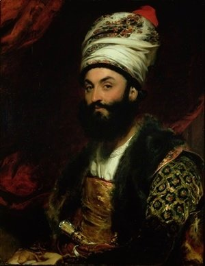 Sir Thomas Lawrence - Portrait of Mirza Abul Hassan Khan