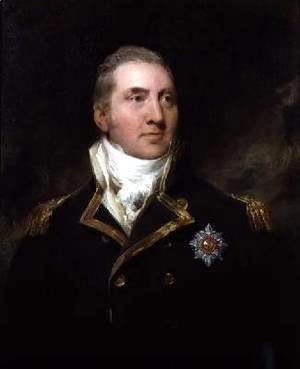 Portrait of Admiral Sir Edward Pellew
