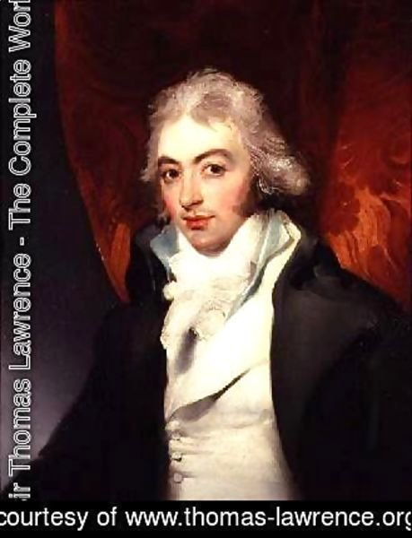 Sir Thomas Lawrence - Portrait of Rev Raby Williams