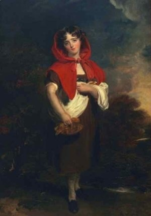 Sir Thomas Lawrence - Emily Anderson Little Red Riding Hood