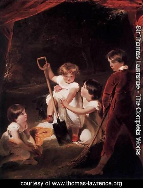 Sir Thomas Lawrence - The Angerstein Children 2