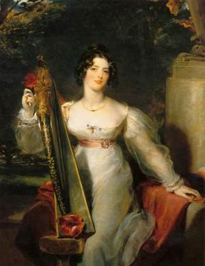 Sir Thomas Lawrence - Portrait of Lady Elizabeth Conyngham