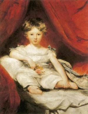 Sir Thomas Lawrence - Portrait of Master Ainslie