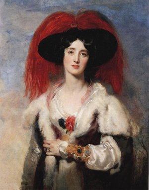 Sir Thomas Lawrence - Lady Peel 1827