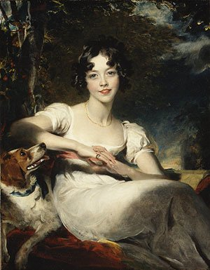 Sir Thomas Lawrence - Lady Harriet Maria Conyngham Later Lady Somerville