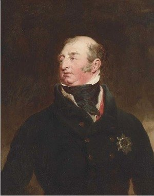 Portrait of Frederick, Duke of York and Albany (1763-1827), bust-length, in a black jacket, wearing the Order of the Garter