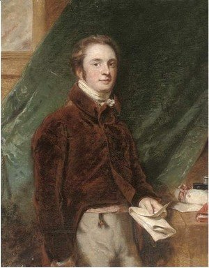 Sir Thomas Lawrence - Portrait of the Rt. Hon. Charles Manners-Sutton, 1st Viscount Canterbury