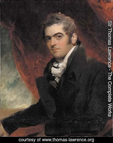 Portrait of William Dacres Adam