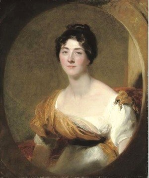 Sir Thomas Lawrence - Portrait of a lady, probably Lucy Meredith, the artist's sister