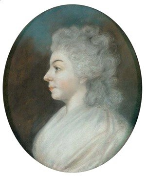 Sir Thomas Lawrence - Portrait of a woman traditionally identified as Sarah Siddons