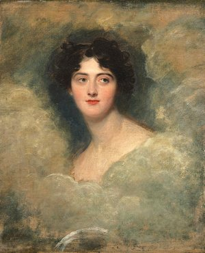 Sir Thomas Lawrence - Portrait of Charlotte, Lady Webster (1795-1867)