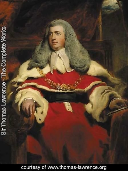 Portrait of Edward Law, 1st Baron Ellenborough, M.P., Lord Chief Justice of England (1750-1818)