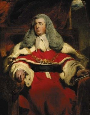 Sir Thomas Lawrence - Portrait of Edward Law, 1st Baron Ellenborough, M.P., Lord Chief Justice of England (1750-1818)