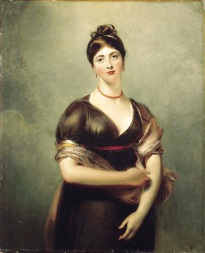 Sir Thomas Lawrence - Portrait of Elizabeth Jennings, later Mrs William Lock