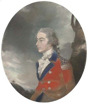 Sir Thomas Lawrence - Portrait of Lieutenant Robert Morris