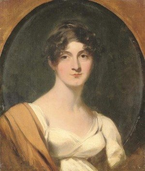 Sir Thomas Lawrence - Portrait of Mrs Jordan