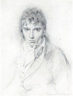 Sir Thomas Lawrence - Portrait of Richard Westall, R.A. (1765-1836)