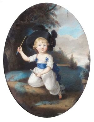 Sir Thomas Lawrence - Portrait Of Laurence Sullivan As A Child