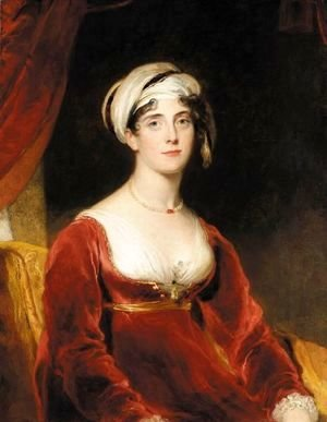 Sir Thomas Lawrence - Portrait Of Anne Perry