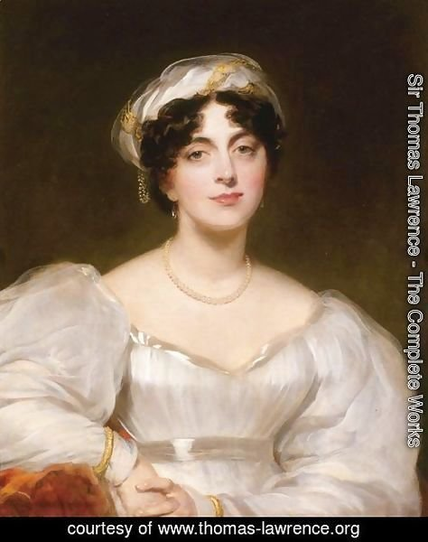Portrait Of A Lady, Said To Be Mrs. Finch