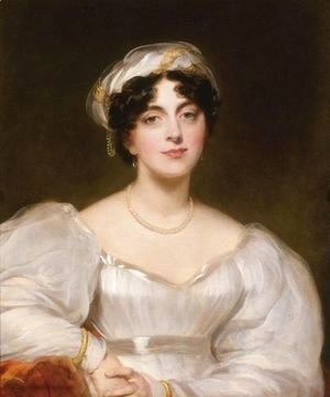 Sir Thomas Lawrence - Portrait Of A Lady, Said To Be Mrs. Finch