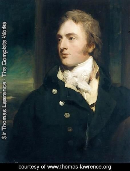 Portrait Of Sir George Cornewall, 3rd Bt. (1774 - 1835) Of Moccas Court