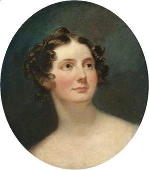 Portrait Of A Lady, Traditionally Identified As Margaret, Countess Of Blessington (1789-1849)