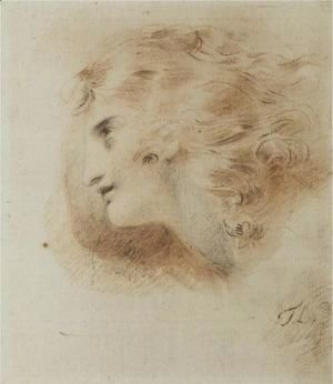 Study For The Head Of A Man