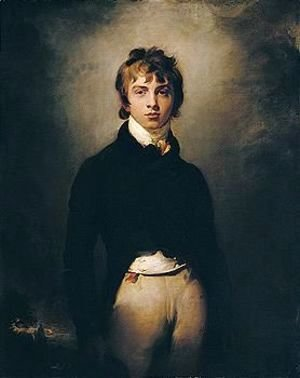 Sir Thomas Lawrence - Portrait Of Andrew Reid (1783-1801)