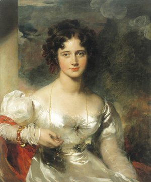 Sir Thomas Lawrence - Portrait of Miss Rosamond Croker