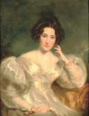 Sir Thomas Lawrence - Portrait of Mrs Sinclair