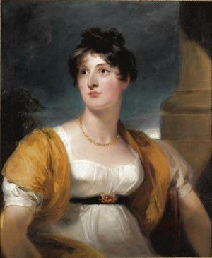 Sir Thomas Lawrence - Portrait Of Anne Goddard, Lady Lethbridge (d.1857)