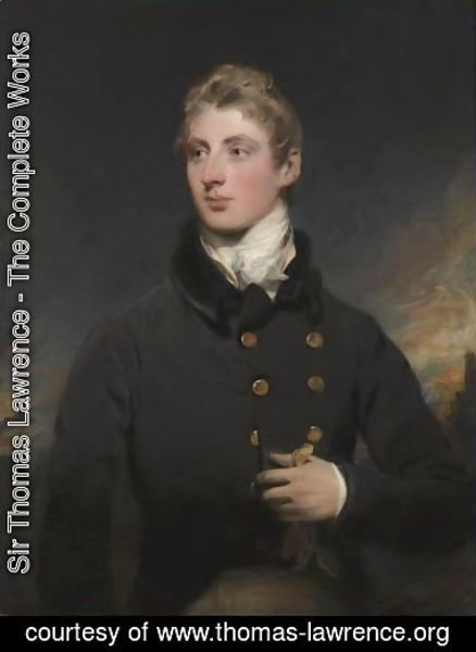 Portrait Of Gerald Wellesley (1790-1833)