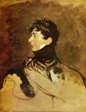 Portrait of George IV as Prince Regent