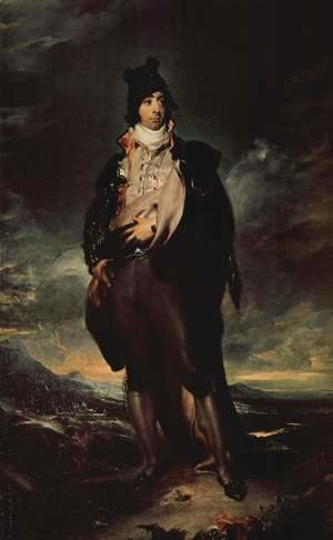 Sir Thomas Lawrence - Portrait of Jon Lord Mountstuart