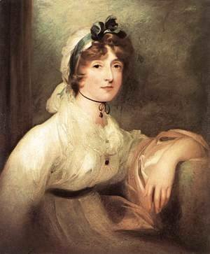 Sir Thomas Lawrence - Diana Sturt, Lady Milner 1815-20