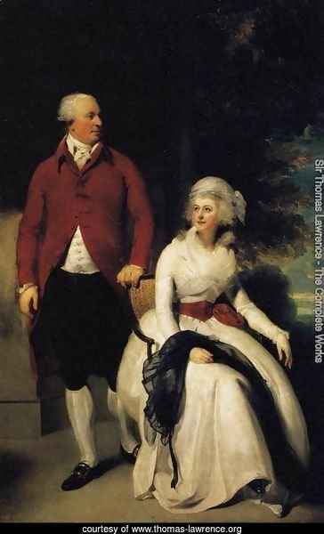 Mr and Mrs John Julius Angerstein  1792